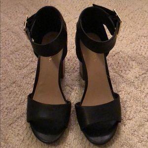 Noemi Ankle Strap Heel/Sandal